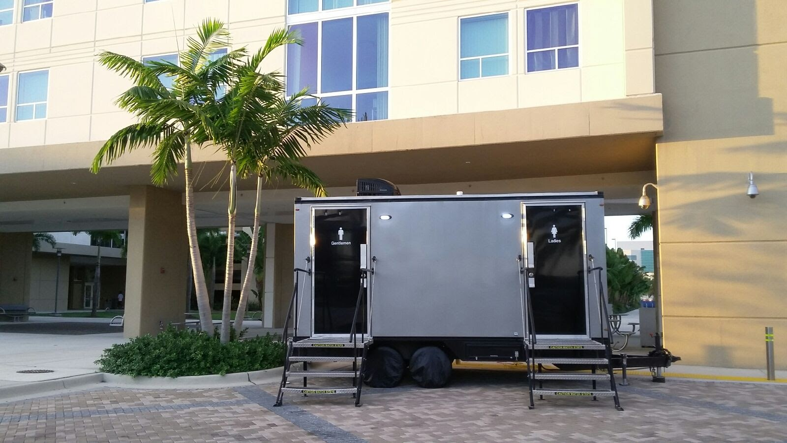 The YML Portable Restrooms Experience Yml Portable Restrooms - Luxury portable bathrooms