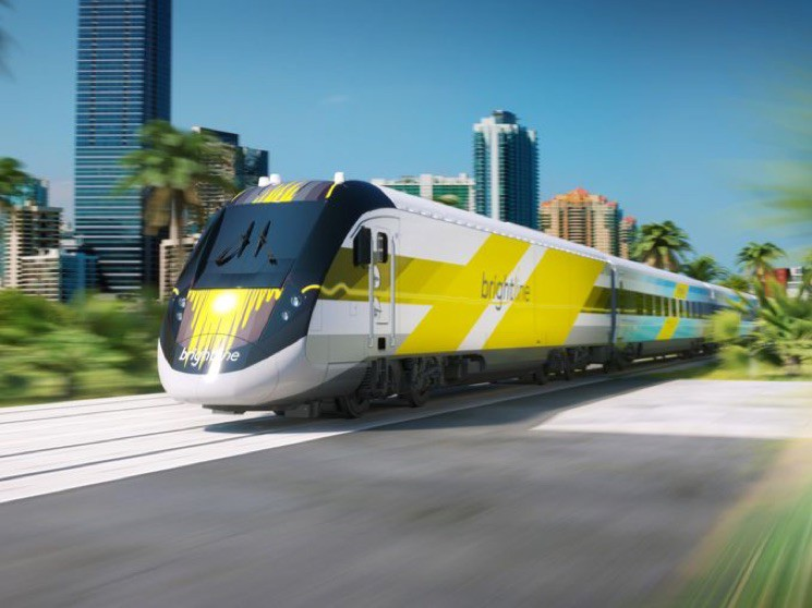 The Brightline Rail Service Unveiling Event, Serviced By YML Portable Restrooms